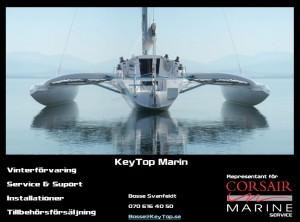 Nya svenska Corsair Marin service